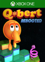 Packshot: Q*bert Rebooted