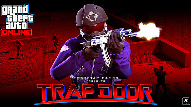 Grand Theft Auto 5 (GTA V) - GTA Online - Trap Door