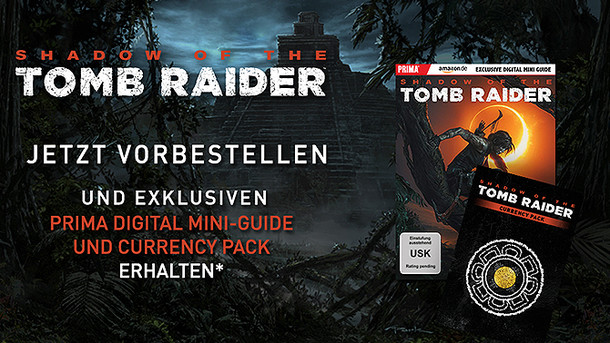 Shadow of the Tomb Raider: Vorbesteller-Boni