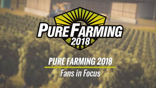 Pure Farming 2018 - Pure Farming 2018: Fans in Focus