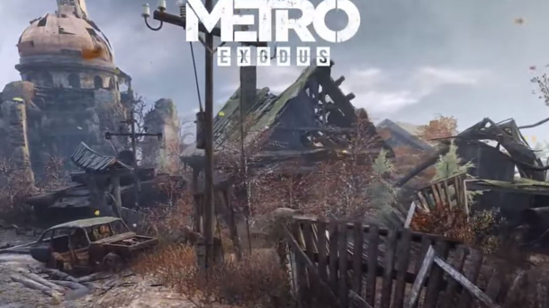 Metro Exodus : METRO EXODUS Real-Time Ray Tech Demo (2018)