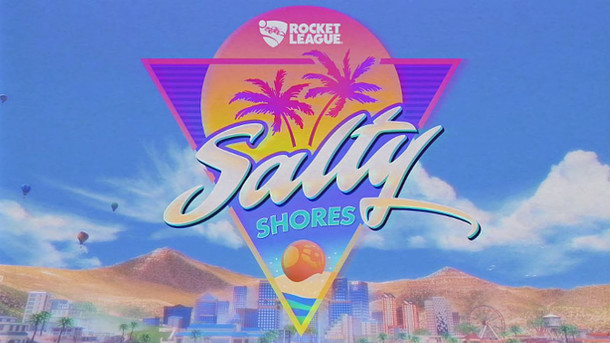 Rocket League: Rocket League - Salty Shores