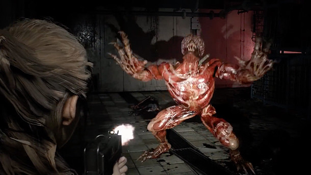 Resident Evil 2 Remake: Resident Evil 2: Licker Gameplay Video