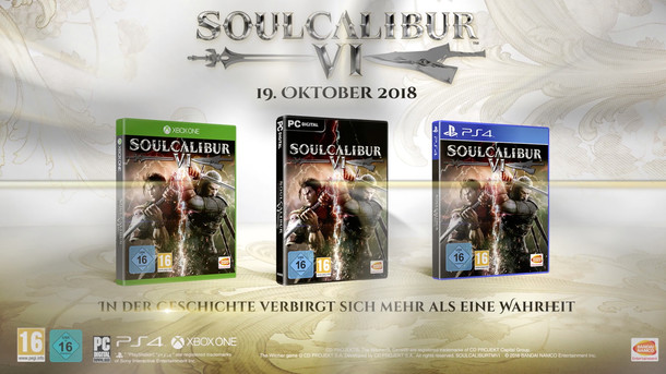 Soul Calibur VI: SOULCALIBUR VI - PS4/XB1/PC - Launch Trailer (Deutsch)