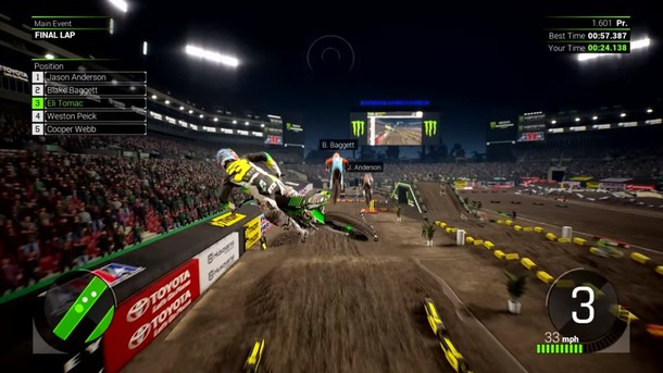 Monster Energy Supercross - The Official Videogame 2 - The Official Videogame 2 - First Full Gameplay