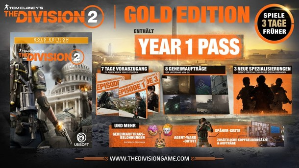 Tom Clancy's The Division 2  - YEAR 1 -TRAILER OFFIZIELL