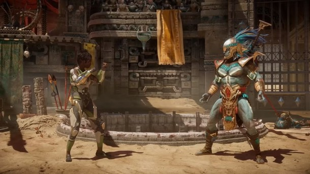 Mortal Kombat 11 - Kotal Kahn Trailer Deutsch HD