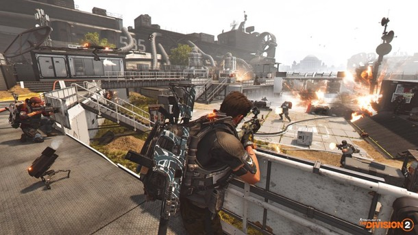 Tom Clancy's The Division 2  - DIE SCHLACHT UM D.C. TRAILER