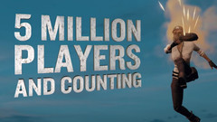 Five Million PLAYERUNKNOWN'S BATTLEGROUNDS Players on Xbox One